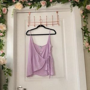Wrap Front Cami